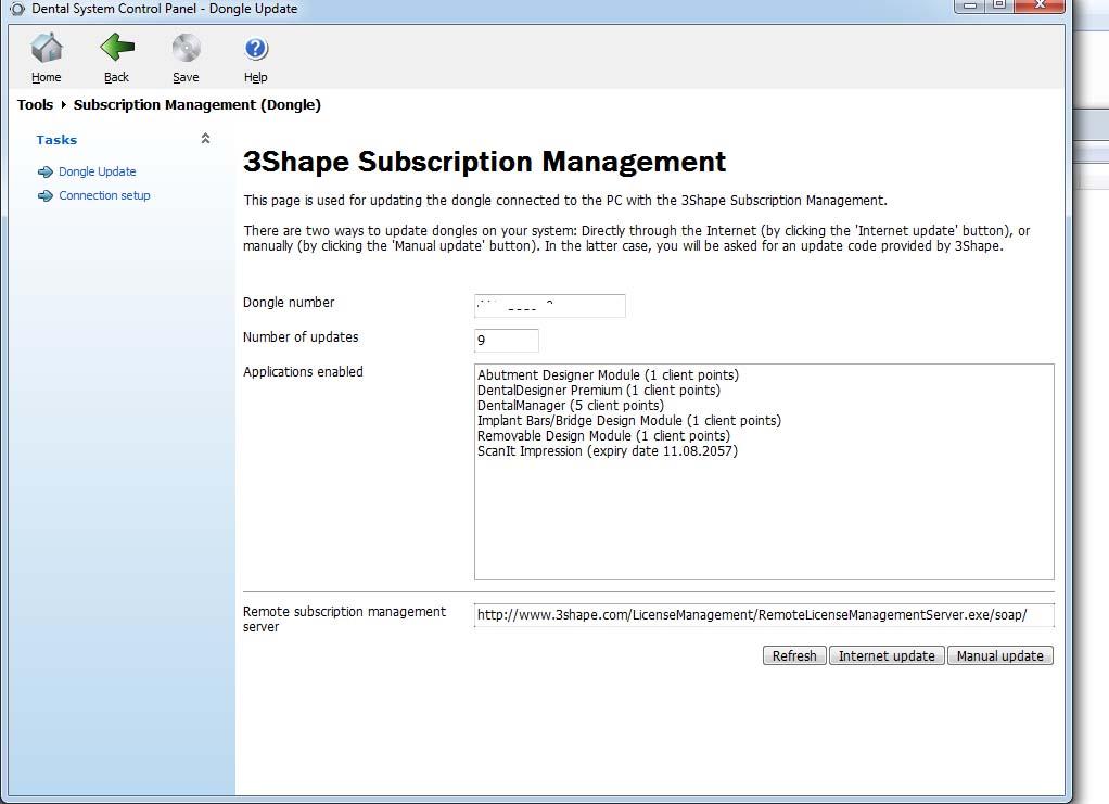 3shape Software Modules