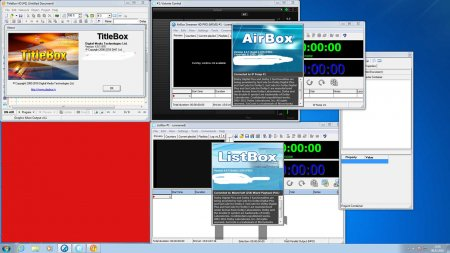 Playbox TitleBox 4.5.1  & AirBox  4.4.5 Wibu Dongle