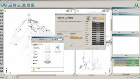 PointCab 3.2 dxf - dwg export working